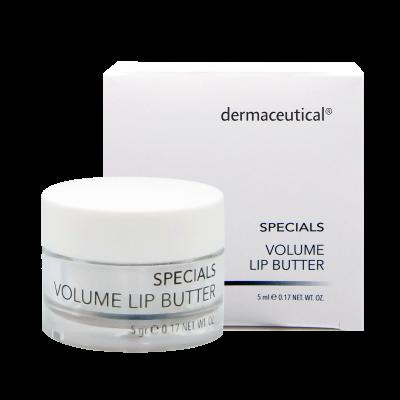 Volume Lip Butter Tiegel und Verpackung