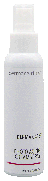derma care photo aging spray cream