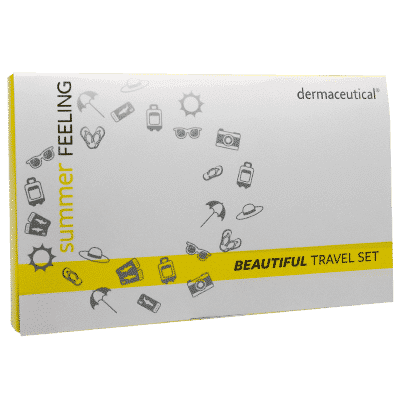 beautiful travel set Verpackung