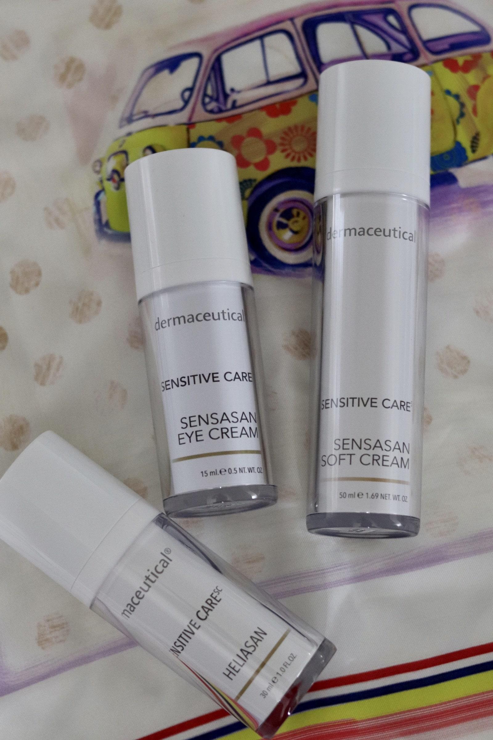 Pflegeprodukte für sensible Haut von dermaceutical