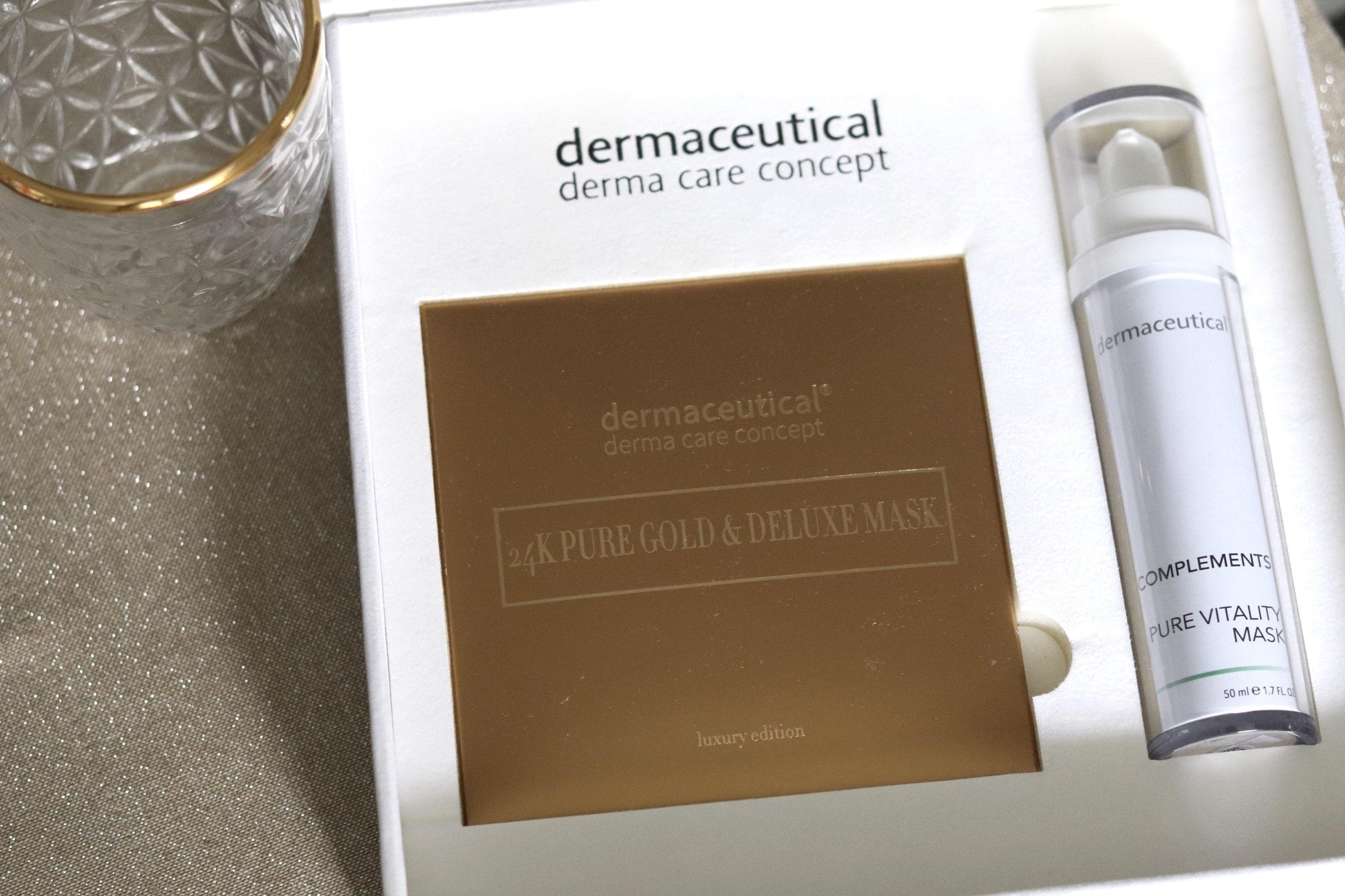 Goldmaske von dermaceutical