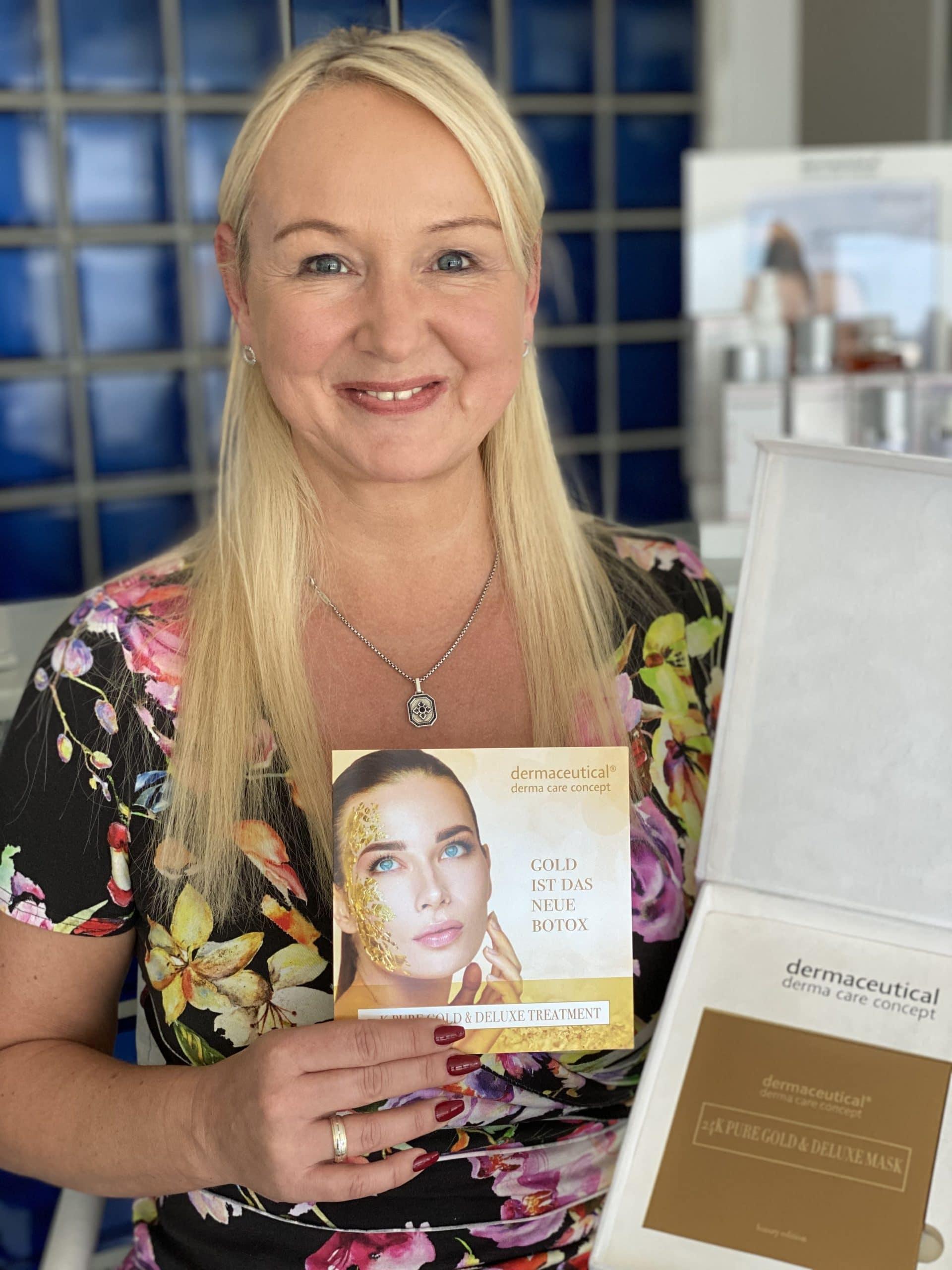 Gold Gesichtsmaske von dermaceutical