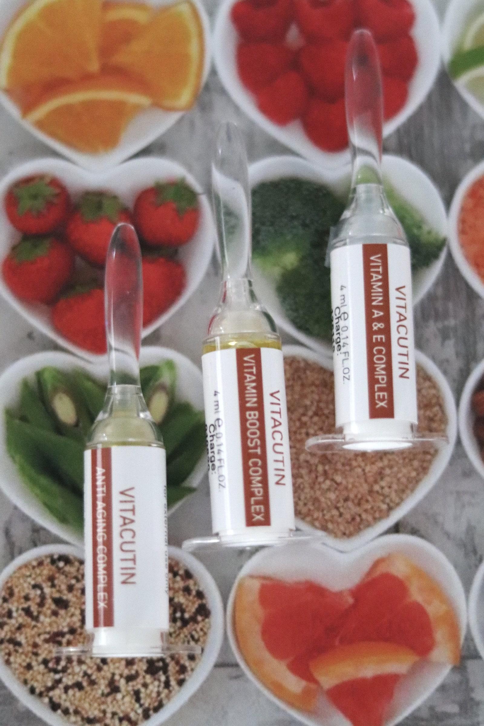 Vitamine in dermaceutical Produkten