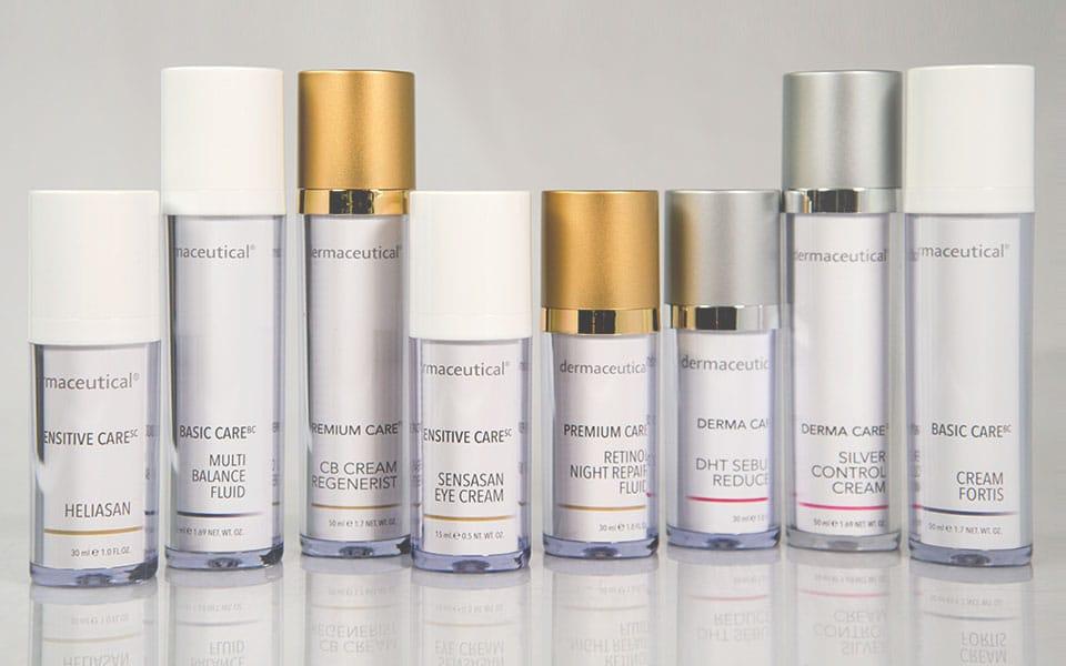 Dermaceutical Produktübersicht