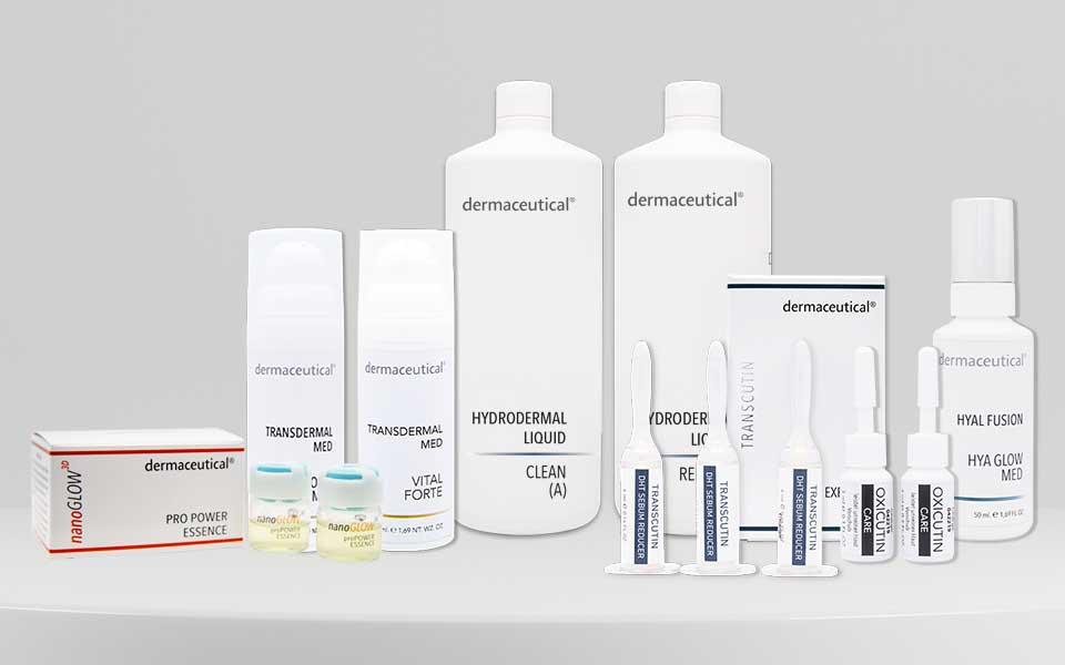 Dermaceutical Produkte für Profis