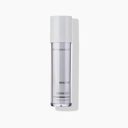 Dermaceutical Cream Soft vitalisiert und spendet der Haut Feuchtigkeit
