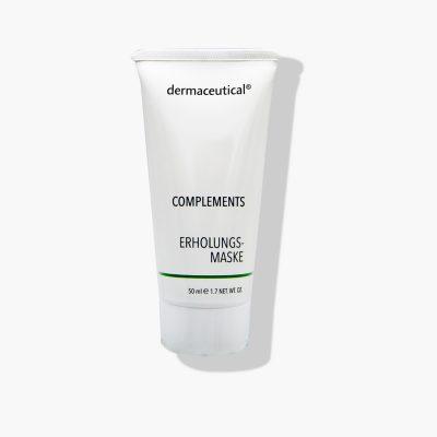 Dermaceutical Erholungsmaske zur Linderung von gestresster Haut
