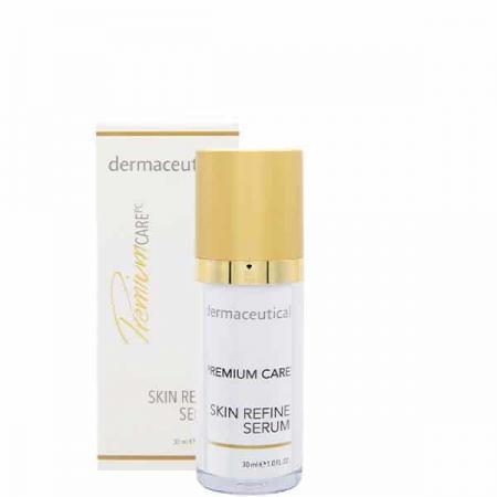 Skin Refine Serum Flasche und Verpackung